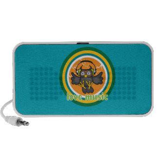 Love music notebook speakers