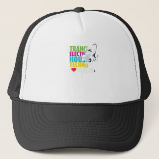 Love music trucker hat