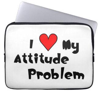 Love My Attitude Problem Laptop Sleeve
