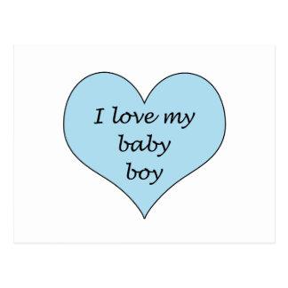 Love My Baby Boy Postcard