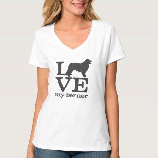 Love my Bernese Mountain Dog Shirt