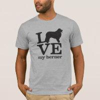 Love my Bernese Mountain Dog T-Shirt