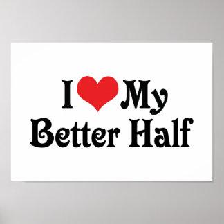 Love My Better Half Poster