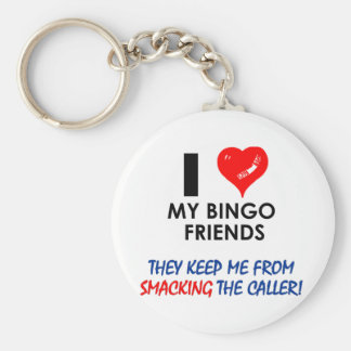 Love my Bingo Friends! Keychain
