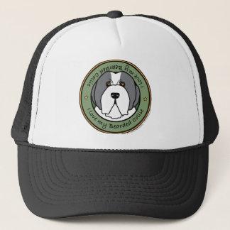 Love My Blue Beardie Trucker Hat