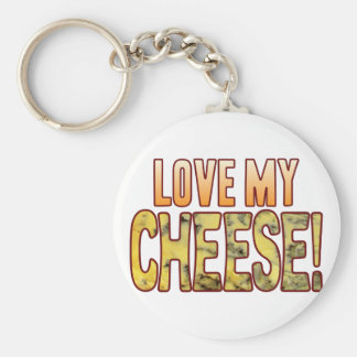 Love My Blue Cheese Keychain