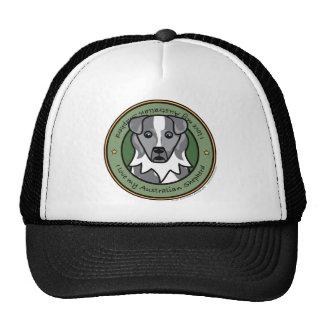 Love My Blue Merle Aussie Trucker Hat