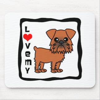 Love My Brussels Griffon Mouse Pad