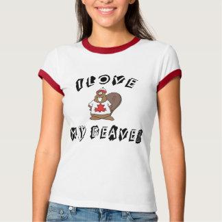 Love My Canadian Beaver T-Shirt