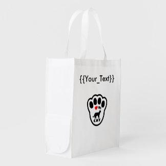 Love My Cat Grocery Bag