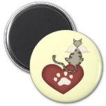 Love My Cat I Fridge Magnets