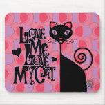 Love My Cat mousepad
