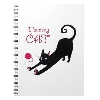 Love My Cat Note Book