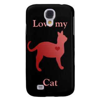 Love My Cat Phone Case Samsung Galaxy S4 Case