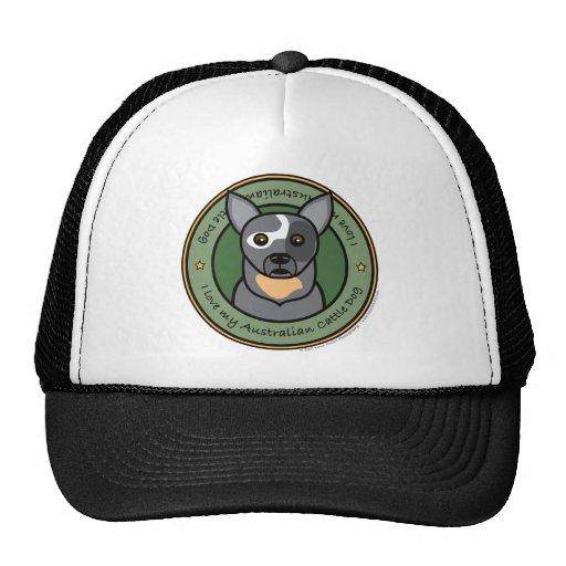 Love My Cattle Dog Trucker Hat