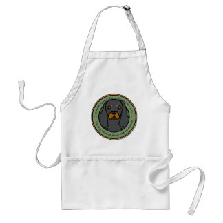 Love My Cavalier Adult Apron