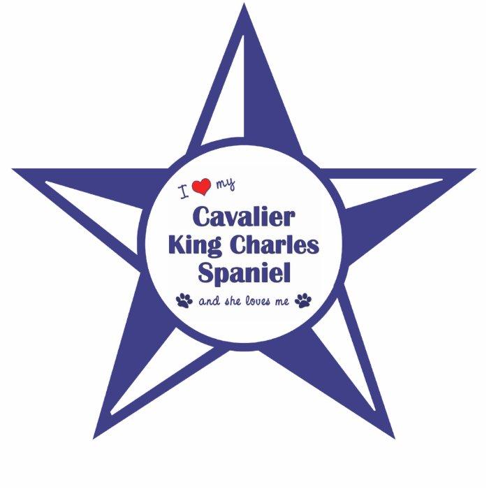 Love My Cavalier King Charles Spaniel (Female Dog) Statuette