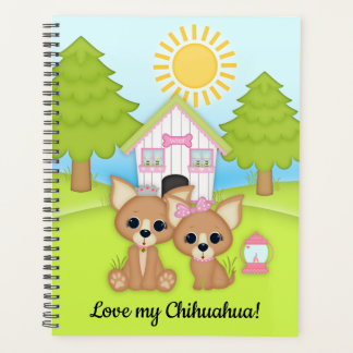 Love my Chihuahua House Tree Planner