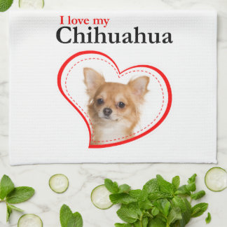 Love My Chihuahua Kitchen Towel