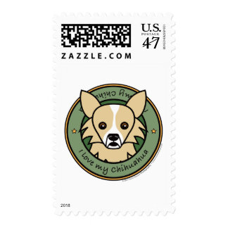 Love My Chihuahua Postage