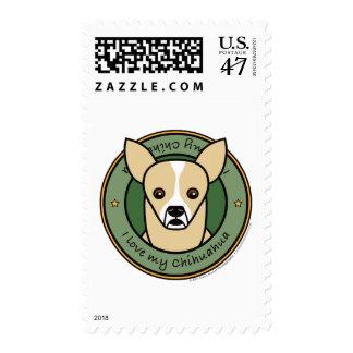 Love My Chihuahua Stamp