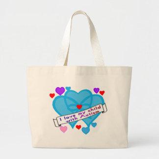 Love my child w autism bag