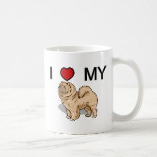 Love My Chow Chow Classic White Coffee Mug