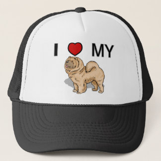 Love My Chow Chow Trucker Hat