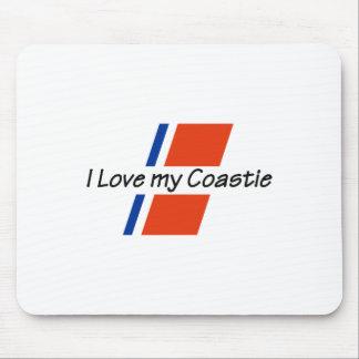 LOVE MY COASTIE MOUSE PAD