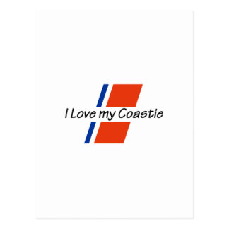 LOVE MY COASTIE POSTCARD
