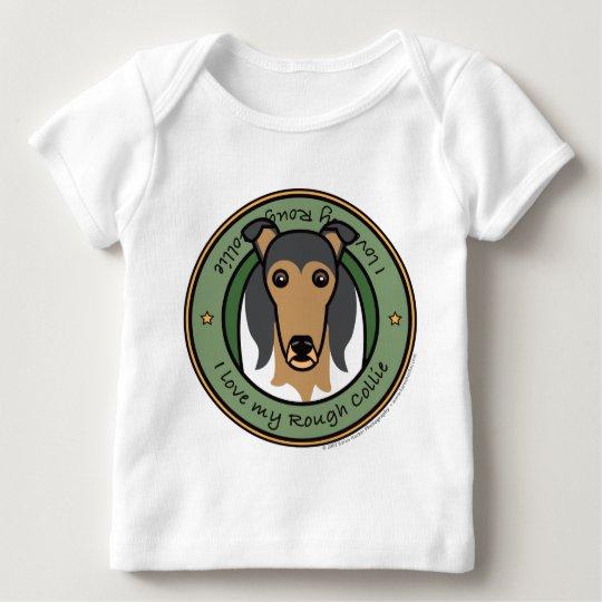 Love My Collie Baby T-Shirt