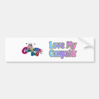 Love My Computer Bumper Stickers