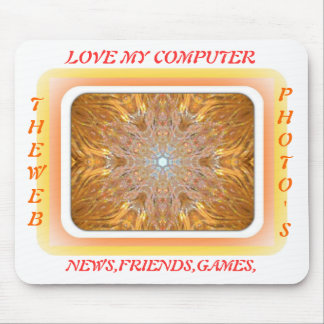 love my computer mouse pad