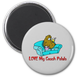Love My Couch Potato Magnets