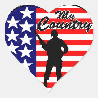Love My Country! Sticker