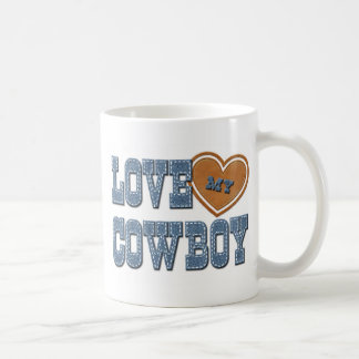 Love My Cowboy Coffee Mug