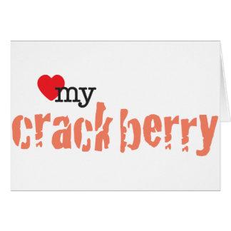 Love My Crackberry Card