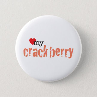 Love My Crackberry Pinback Button