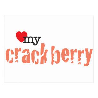 Love My Crackberry Postcard