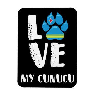 LOVE MY CUNUCU (White letters) - Magnet