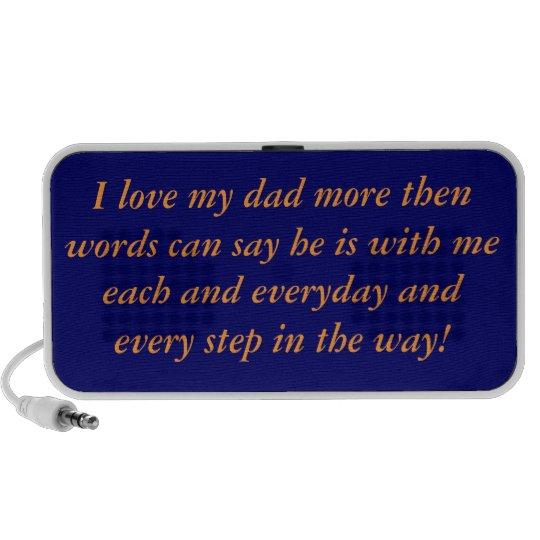 Love my dad portable speaker