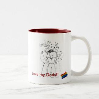 Love my Dads!! Mug (boy)
