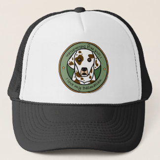 Love My Dalmatian Trucker Hat