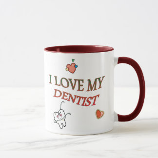 Love My Dentist Mug