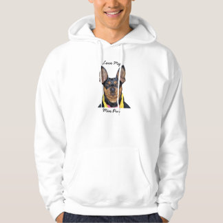 """""""Love My Dog Breed"""" Sweats Hooded Pullover"""
