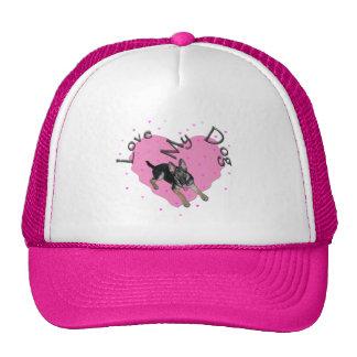 Love My Dog Cap Trucker Hat