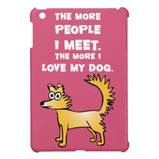 Love my dog iPad mini cases