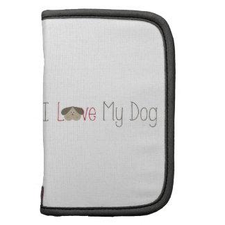 Love My Dog Folio Planner