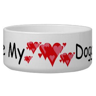 Love My Doggie Pet Bowls
