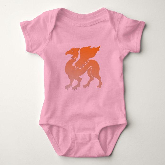 Love My Dragon Baby Bodysuit